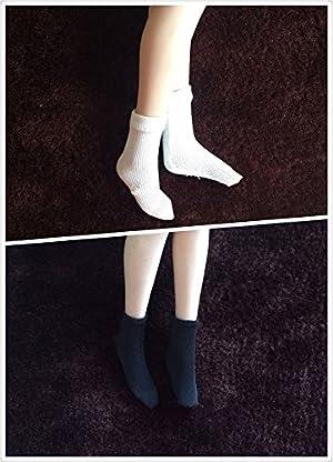 Neinei 1/6 1:6 スケール 靴下 ソックス 人形 ドール 兵士 女性 12インチ PHICEN 1/6素体 JODOLL 2ペア