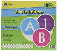 Teacher Created Resources Sassy Circle Letters [並行輸入品]