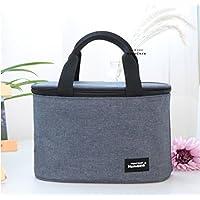 Wanghongランチバッグ 弁当バッグ 保冷バッグ クーラーバッグ保温 軽量 通勤 通学 ピクニック 手提げバッグ