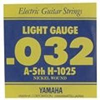 YAMAHA H1025 エレキギター用 バラ弦 5弦×6本