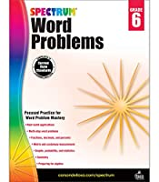 Spectrum Word Problems, Grade 6