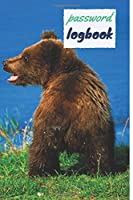 Password Logbook: Bear Internet Password Keeper With Alphabetical Tabs | Handy Size 6 x 9 inches (vol. 1)