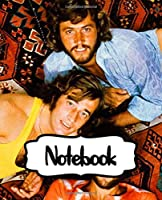 Notebook: Bee Gees Pop Music Group The Gibb Brothers Barry, Robin, and Maurice Gibb World's Best-Selling Artists of All Time, (Workbook and Handbook), Workbook for Teens & Children, Man, Woman Paper 7.5 x 9.25 Inches 110 Pages