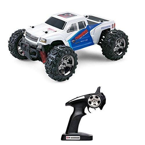 全地形ラジコン RC カー 4WD 2.4GHz 四輪駆動 40Km/h 高速 RTR レーシングカー オフロード車リモコンおもちゃ車 [並行輸入品]