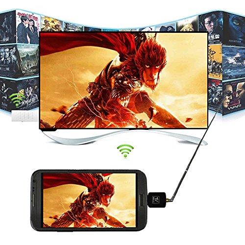 [해외]Jiayuane DVB-T 디지털 모바일 TV 수신기~ 마이크로 USB DVB-T TV 튜너 수신기 (Android 스마트 폰 태블릿 PC HDTV 용)/Jiayuane DVB-T Digital Mobile TV Receiver~ Micro USB DVB-T TV Tuner Receiver (for Android Smartphone Tablet PC HDTV)