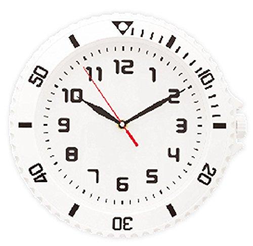 腕時計型が おしゃれな ウォッチスタイル クロック (連続秒...
