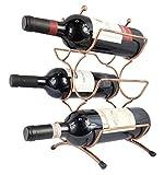ワインホルダー ワインラック 6本用 ワイン ボトル ホルダー ワインスタンド おしゃれ ヴィンテージ ブロンズ仕上げ