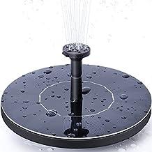 Ankway Solar Bird Bath Fountain Pump, 1.4W Free Standing Solar Fountain Water Pumps