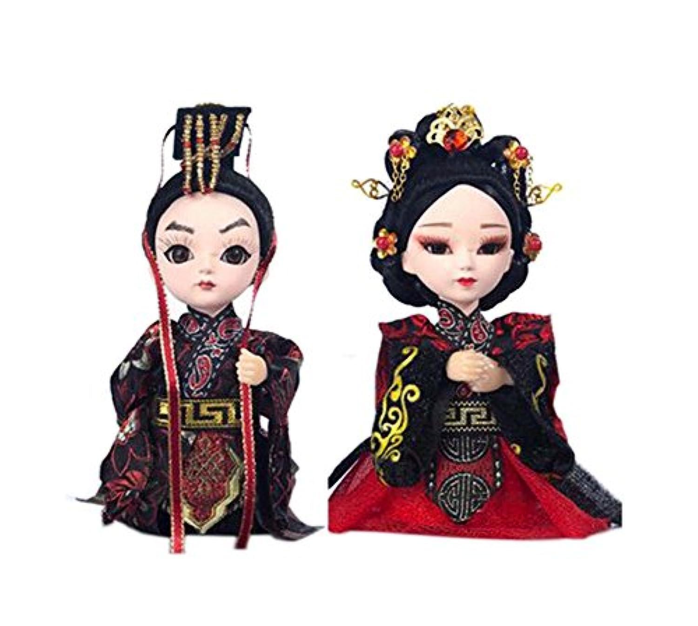 クリエイティブ漢王朝の工芸中国北京オペラ人形の装飾