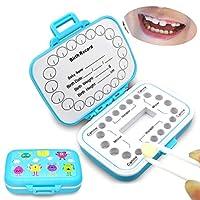 Blight 乳歯収納ボックス 乳歯の箱 乳歯ボックス メモリアルボックス ラヌゴ収納ボックス お誕生祝い 成長記録 赤ちゃん用