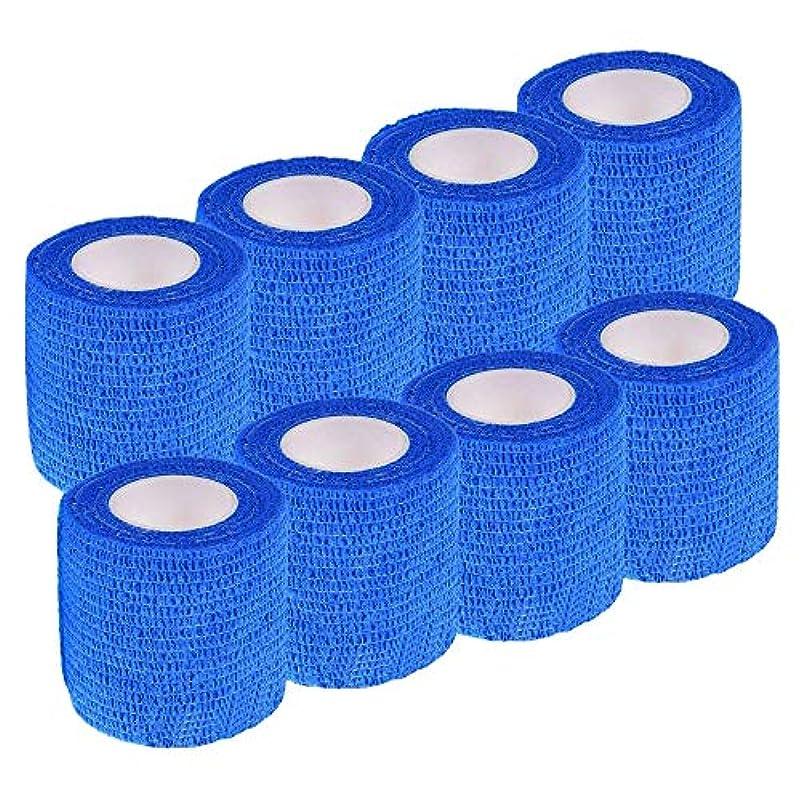 スプレーアーティスト助手Occupation 多機能 自着性包帯テープ 12巻入 テーピング 伸縮性 通気性 汗に強い