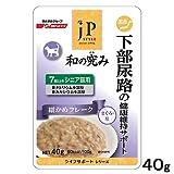 Amazon.co.jp日清ペットフード ジェーピースタイル 和の究み 下部尿路の健康維持サポート 7歳以上のシニア猫用 40g