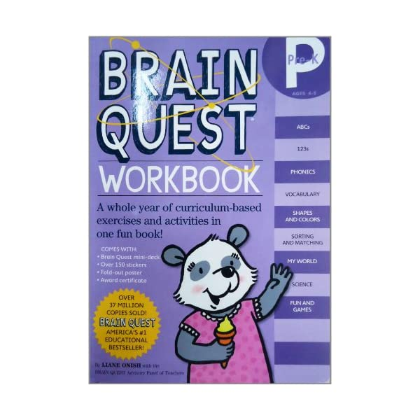 Brain Quest Workbook Pre-Kの紹介画像4