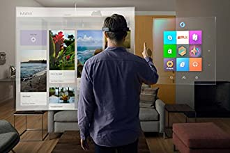 マイクロソフト ホロレンズ Microsoft HoloLens メガネ Glass ホログラム コンピュータ 3D映像 Holographic Windows 10【開発者向け 】 [並行輸入品]