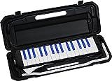 KC 鍵盤ハーモニカ  ブラック/ブルー 32鍵 P3001-32K/BKBL ドレミ表記シール・クロス付き