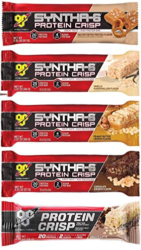 BSN シンサ6 プロテイン クリスプ バラエティ パック 5種類×2 10 Bars (Syntha-6 Protein Crisp 5 Flavor Variety Pack)