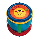 Chicco Shapes and Sounds Tambourine 2-in-1 Baby Drum, Shape Sorter [並行輸入品]