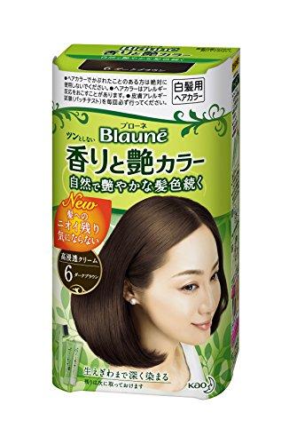ブローネ 香りと艶カラークリーム 6ダークブラウン 医薬部外品