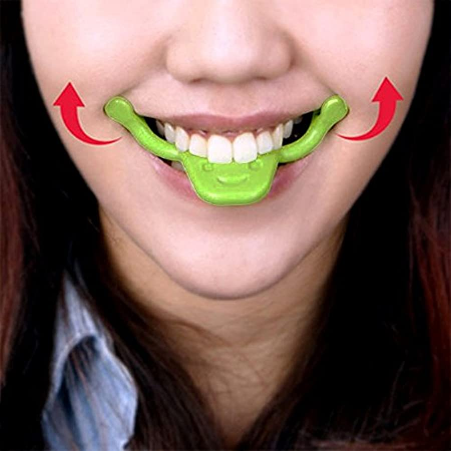 表情筋 トレーニング 小顔 ストレッチ ほうれい線 二重 あご 消す 口角を上げるグッズ 美顔 顔痩せ リフトアップ マウスピース フェイシャルフィットネス (タイプ2)