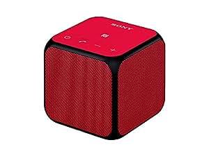 ソニー SONY ワイヤレスポータブルスピーカー Bluetooth/NFC対応 レッド SRS-X11 R