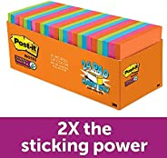Post-it Super Sticky Notes, Rio de Janeiro Collection, 24 Pads Cabinet Pack, 3 x 3&