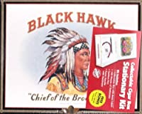 Black Hawk Collectible Cigar Box Writing Stationary Kit by Black Hawk [並行輸入品]