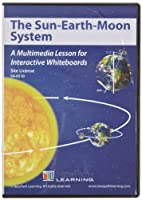 サイトライセンス:インタラクティブホワイトボード用マルチメディア レソン Sun-Earth-Moon(78691)