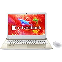 東芝 15.6型ノートパソコン dynabook T75/D (2017年 夏モデル)サテンゴールド(Office Home&Business Premium プラス Office 365) PT75DGP-BJA2