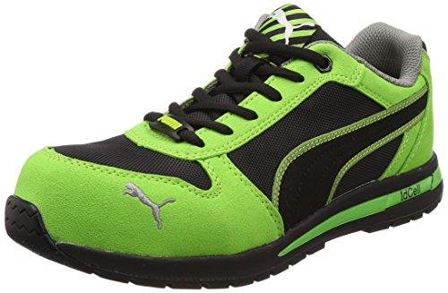 [プーマセーフティー] 安全靴 JSAA規格 セーフティスニーカー エアツイスト・ロー 64.322.323 グリーン 25 cm