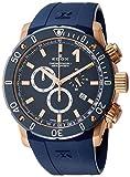 [エドックス]EDOX 腕時計 クロノオフショア1 クロノグラフ 10221-37RBU3-BUIR-3 メンズ 【正規輸入品】