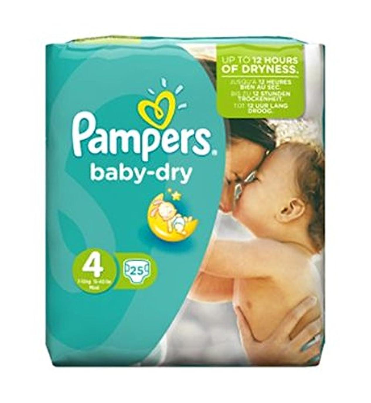 束ねる合併症メンタルPampers Baby Dry Size 4 (Maxi) Carry Pack 25 Nappies - パンパース赤ちゃんドライサイズ4(マキシ)がパック25おむつを運びます (Pampers) [並行輸入品]