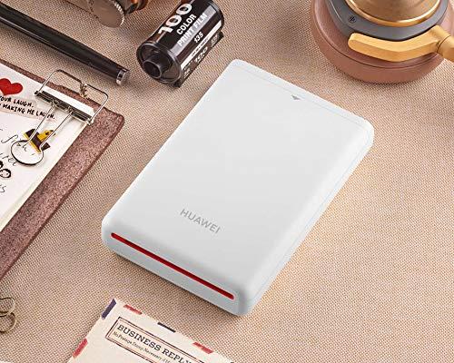 HUAWEI Zink フォトプリンター スマホプリンター インスタント Bluetooth 4.1 500mAh ファーウェイ ホワイト