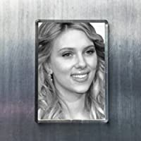 SCARLETT JOHANSSON - オリジナルアート冷蔵庫マグネット #js006