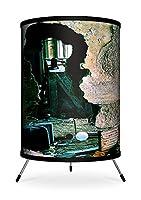 Lamp-In-A-Box TRI-FAR-MLACH Featured Artists Miki Lansdowne Abandoned Childhood Tripod Lamp [並行輸入品]