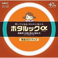 NEC 丸形蛍光灯(FCL) ホタルックα 40形 電球色 FCL40ELR/38-SHG-A