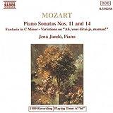 Mozart: Piano Sonatas Nos. 11 & 14 / Fantasia in C Minor / Variations on - Ah, vous dirai-je, maman! by W.A. Mozart (2013-05-03)