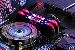 Patriot Viper Gaming デスクトップ用RGBシリーズDDR4 DRAM 3200MHz 16GBキット - ブラック