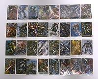 ☆ GUNDAM ガンプラパッケージアートコレクション チョコウエハース2 ☆ 32種コンプリート(※056SR スーパーレア/ターンエーのみ無し)