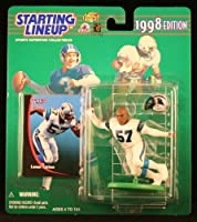 LAMAR LATHON / CAROLINA PANTHERS 1998 NFL Starting Lineup Action Figure & Exclusive NFL Collector Trading Card