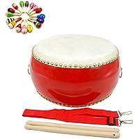 M0N0liTH 太鼓 セット 楽器 練習 パーティー カラオケ イベント 応援 宴会 グッズ 本格的な響き (アウトレット 直径 30cm)