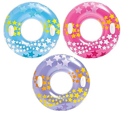 [해외]INTEX (인텍스) 튜브 스타 게이지 튜브 91cm 59256 색상 지정 불가 [일본 정품]/INTEX (INTEX) floating wheel star gage tube 91cm 59256 color designation impossible [Japan regular goods]