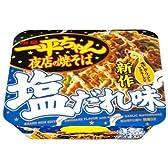 (お徳用ボックス) 明星 一平ちゃん 夜店の焼そば塩だれ味×12個