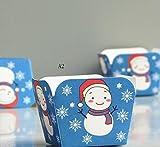 クリスマス高温度耐性Cup The北海道シフォンケーキペーパーカップ100個