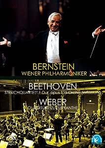 バーンスタイン/ベートーヴェン:弦楽四重奏曲第16番、ウェーバー:オイリアンテ序曲 [DVD]