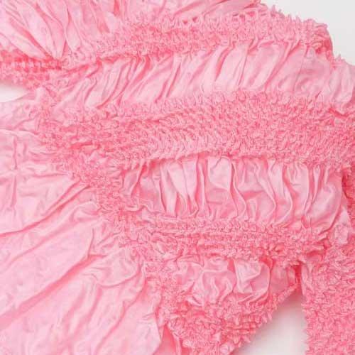 選べる12種類 監修 有松鳴海絞 兵児帯 形状安定加工 リボン 蝶結び 4.2m ポリエステル 浴衣帯 G:雲/ピンク