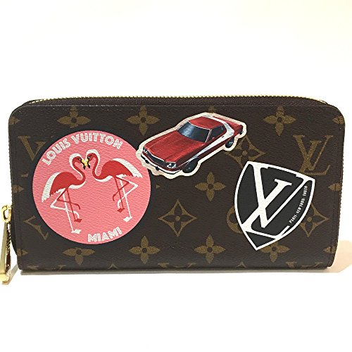 (ルイ・ヴィトン) LOUIS VUITTON M62149 ジッピー・ウォレット モノグラム・ステッカー メンズ レディース 長財布(小銭入れあり) モノグラムキャンバス ユニセックス 新品同様 中古