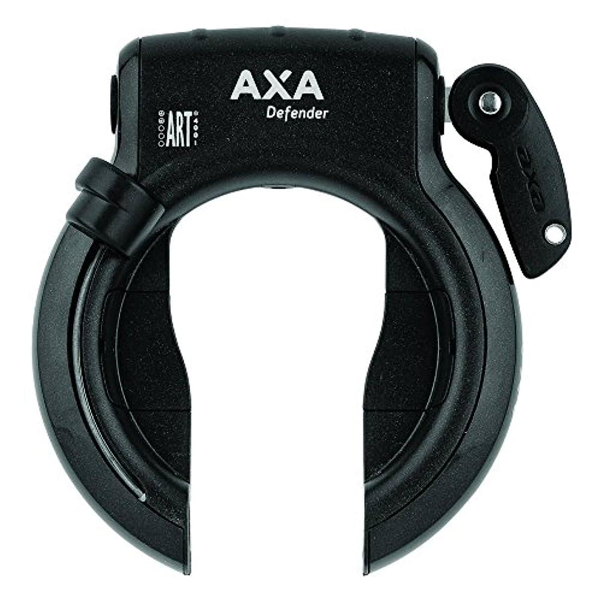 虚弱レンジ義務AXA 5011523 Defender Antivol de cadre Noir