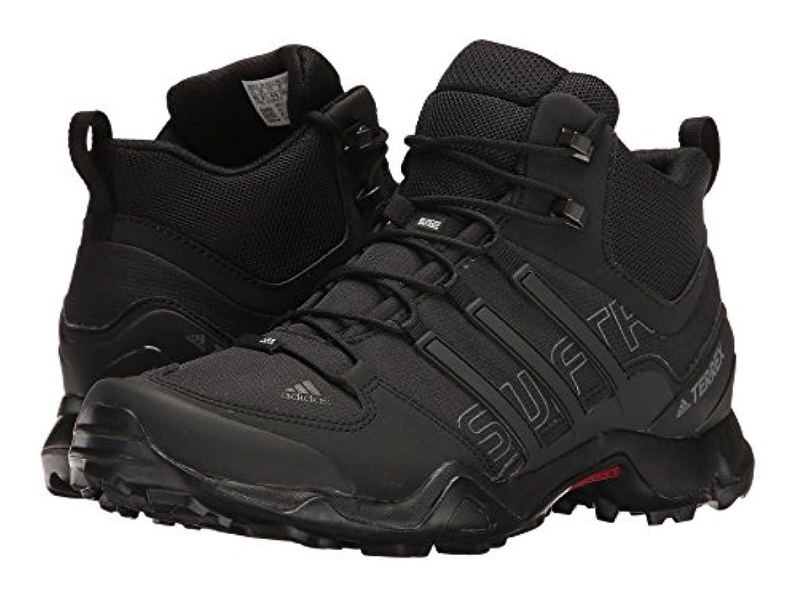 身元ビーム刈り取る(アディダス) adidas メンズブーツ?靴 Terrex Swift R Mid Black/Black/Dark Grey 12 (30cm) D - Medium