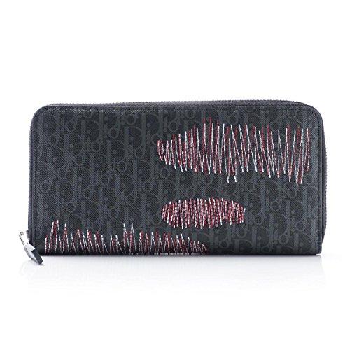 (ディオールオム) Dior HOMME ラウンドファスナー 長財布[小銭入れ付き] [並行輸入品]