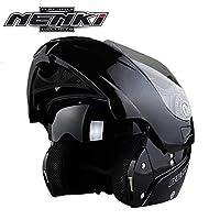 システムヘルメット フルフェイス バイクヘルメット フリップアップヘルメット バイク用 春 夏 秋 冬 PSC付き AN-189[商品05/L]